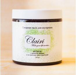 Сахарная паста Clairi Medium (средняя) с ароматом Яблока и экстрактами трав и растений - 750 гр.